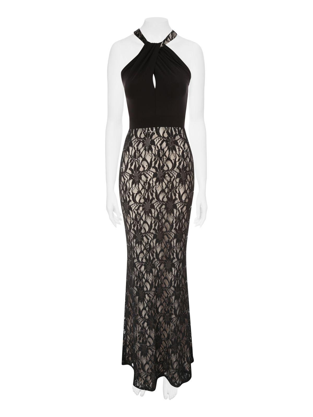 Jane norman lace maxi dress