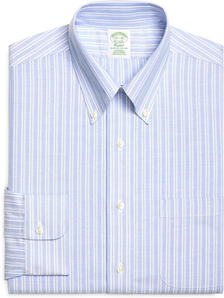 Brooks brothers non iron extra slim fit brookscool for Extra trim fit dress shirt