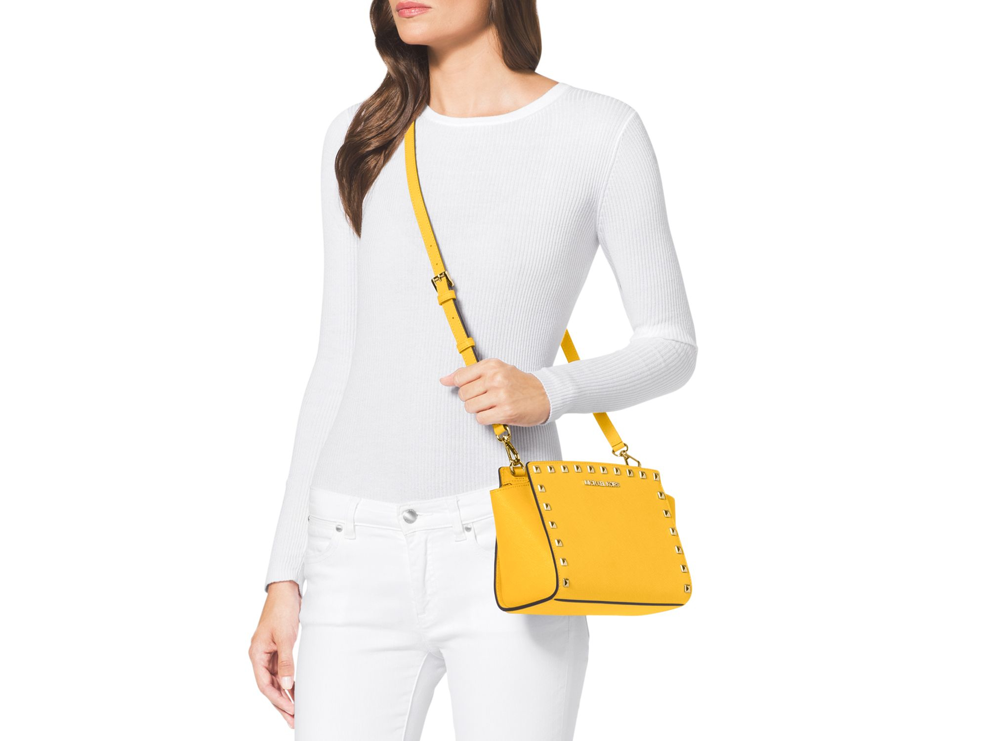 5892691f8d76 Gallery. Previously sold at: Bloomingdale's, Macy's · Women's Michael By Michael  Kors Selma