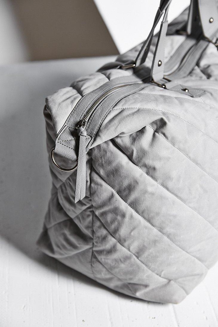 Lyst - Bdg Quilted Weekender Bag in Gray : quilted weekender bag - Adamdwight.com