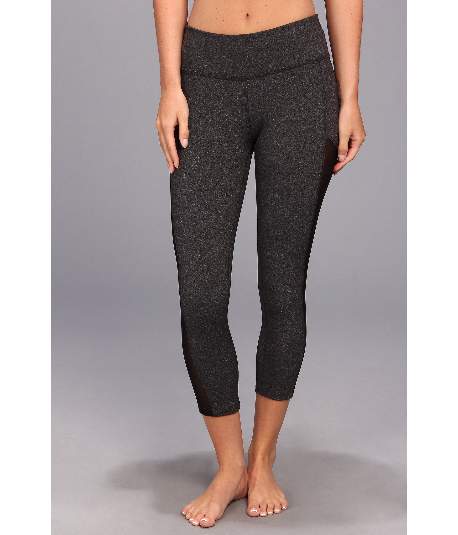 c22c31e3 Beyond Yoga Mesh Panel Legging in Gray - Lyst