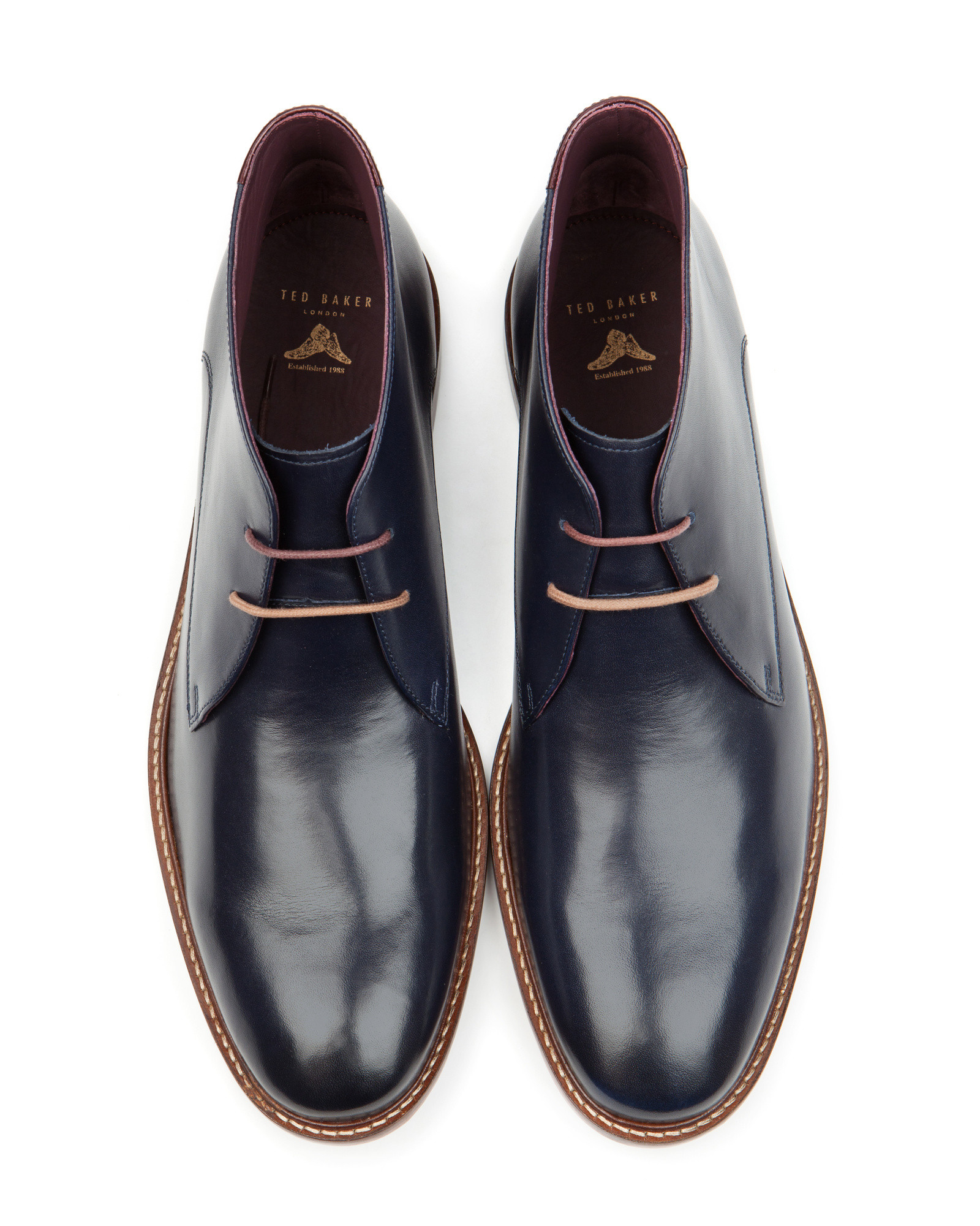 Ted Baker Formal Shoes Blue Laces
