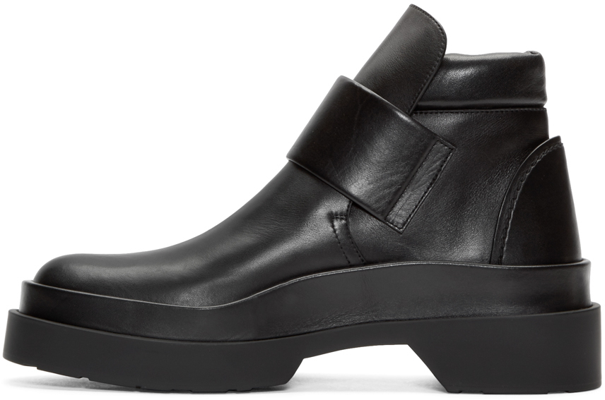 low price cheap price cheapest Jil Sander Round-Toe Ankle Boots latest collections sale online cheap sale cheap outlet sale online VW8wqajL0