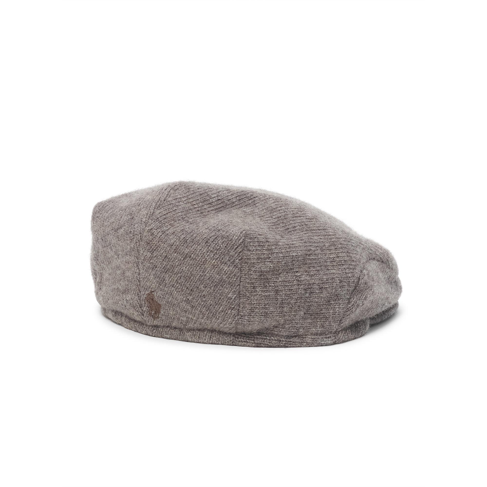 8dc1fad0 ... lyst polo ralph lauren wool blend driving cap in brown for men