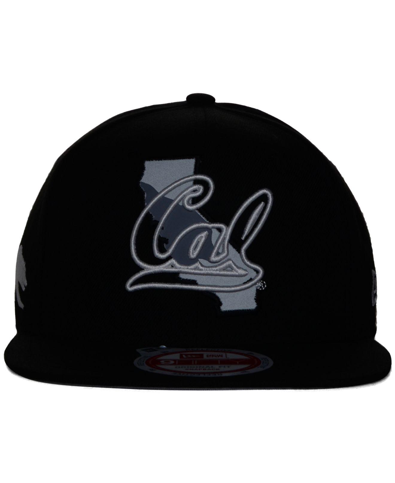 more photos 71d53 86369 KTZ California Golden Bears State Flective 9fifty Snapback Cap in ...