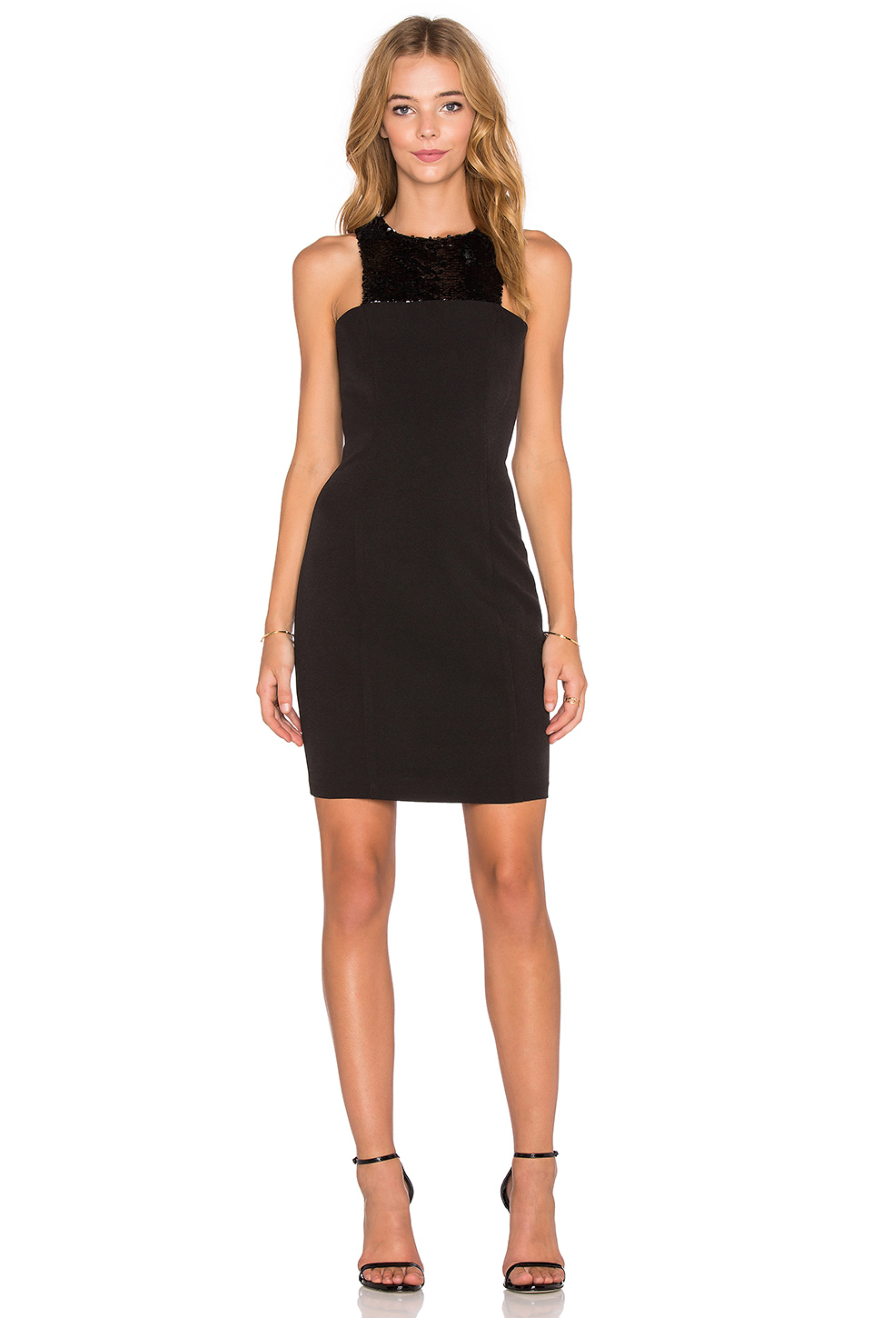 Endless Rose Cleo Sequin Mini Dress In Black Lyst