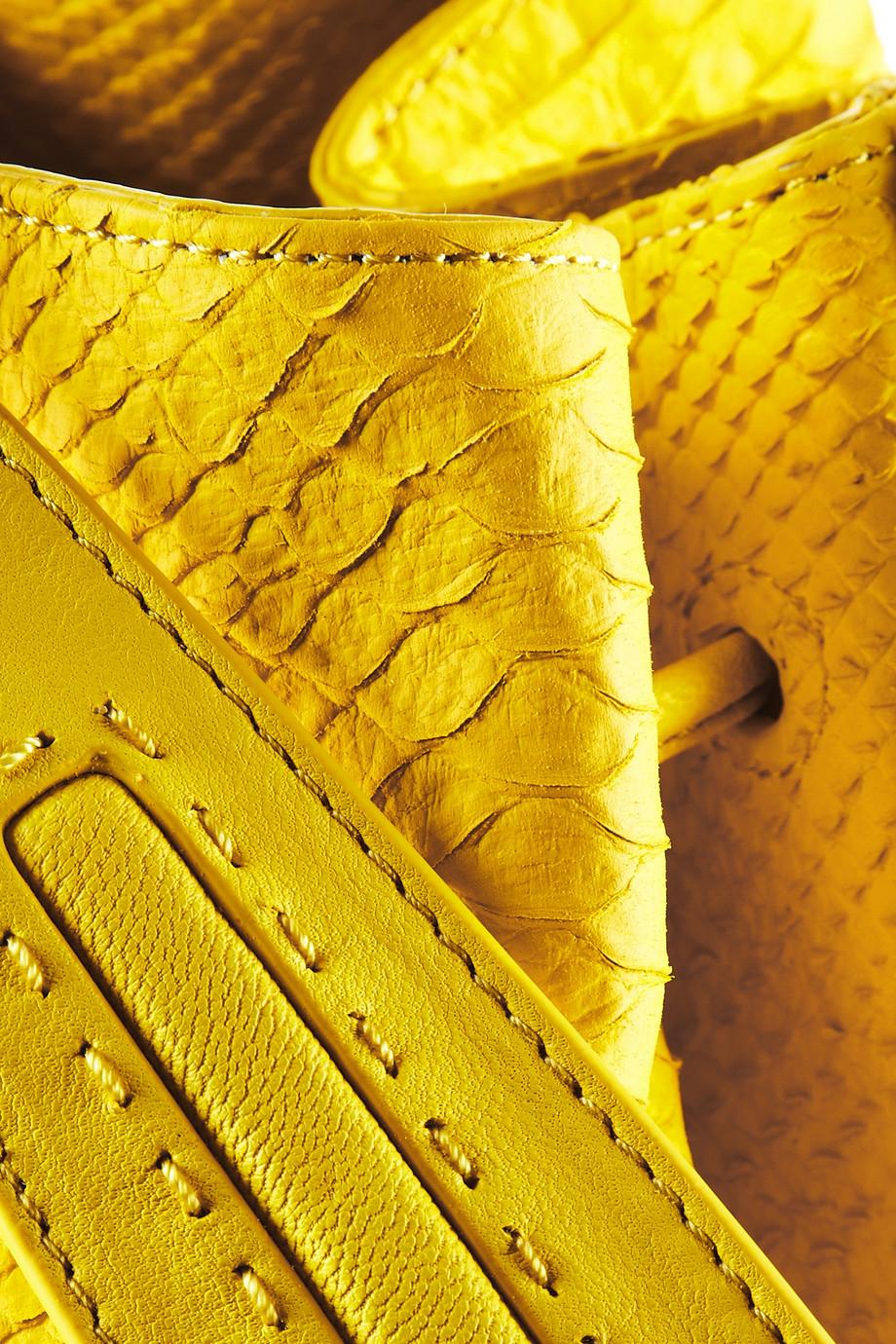 Lyst Elizabeth And James Sling Snake Effect Leather