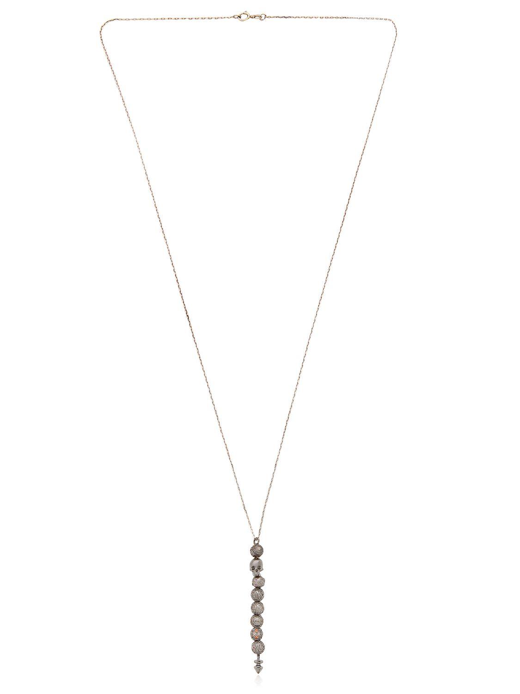 Luis Morais Skull-pendant necklace zSmYFRscrE