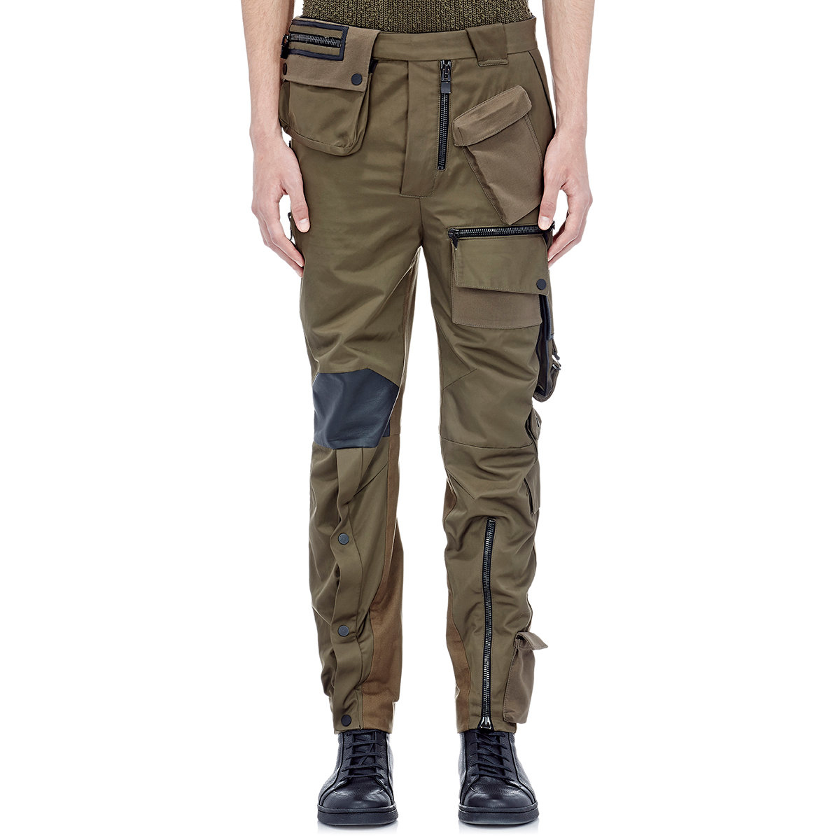 Balenciaga Men's Utility Pants in Green for Men | Lyst