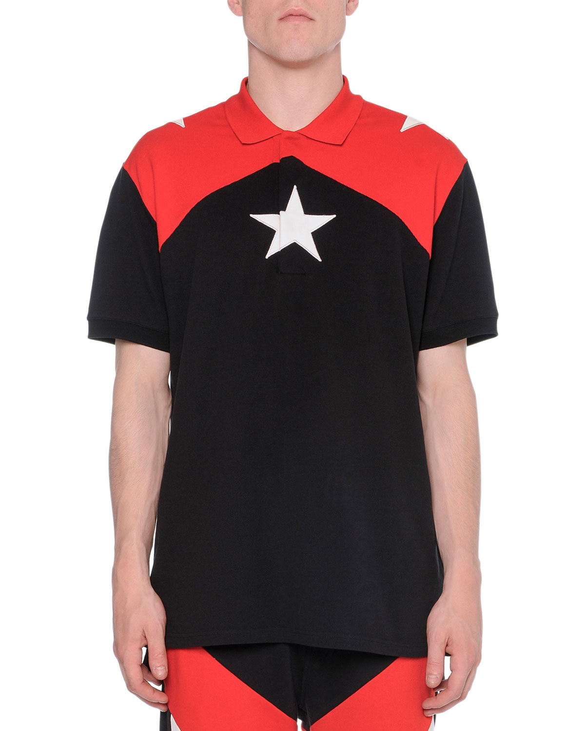 20d1cff9 Givenchy Black Polo Red Stars | The Art of Mike Mignola