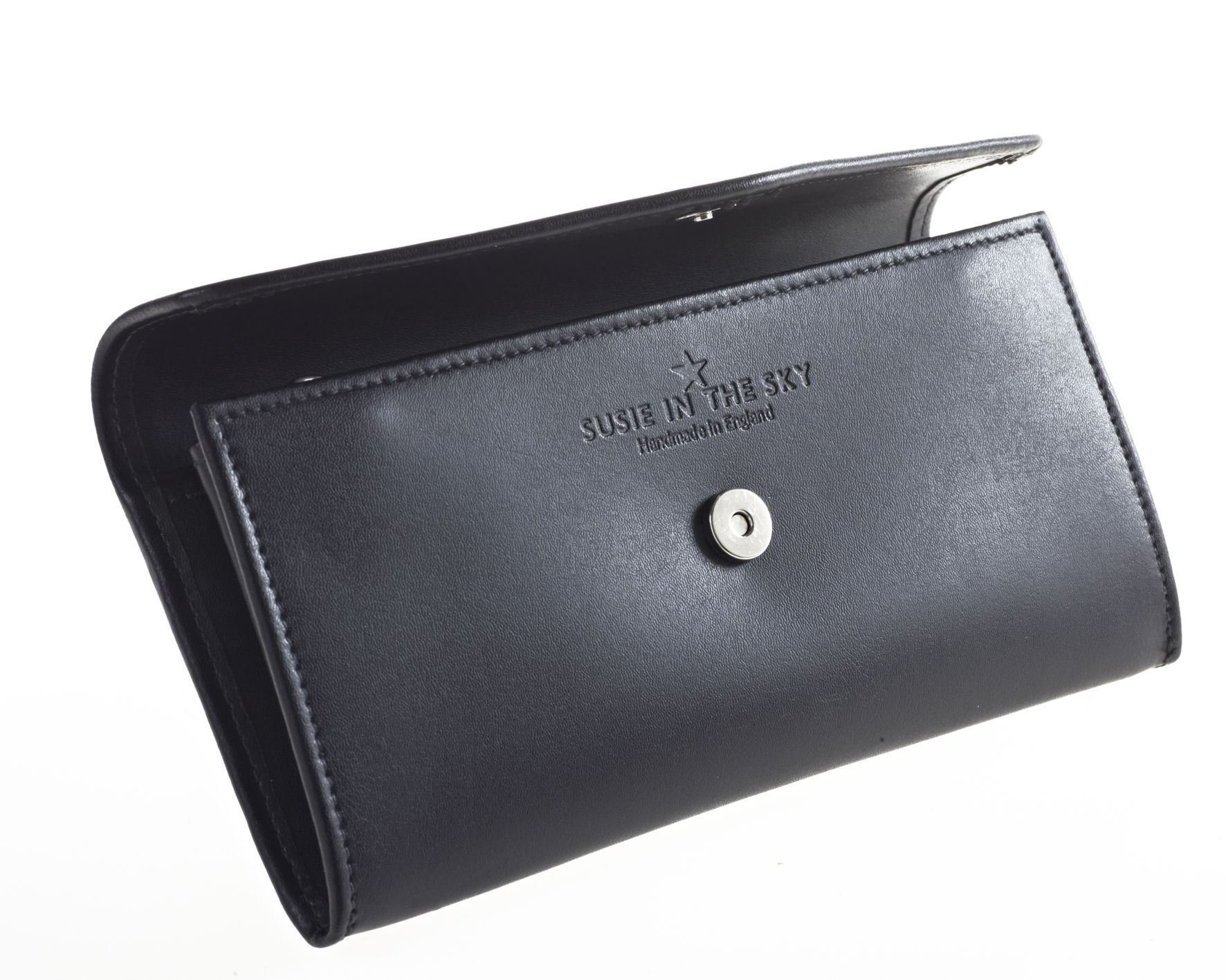 Lyst Susie In The Sky Lily Wallet Black In Black