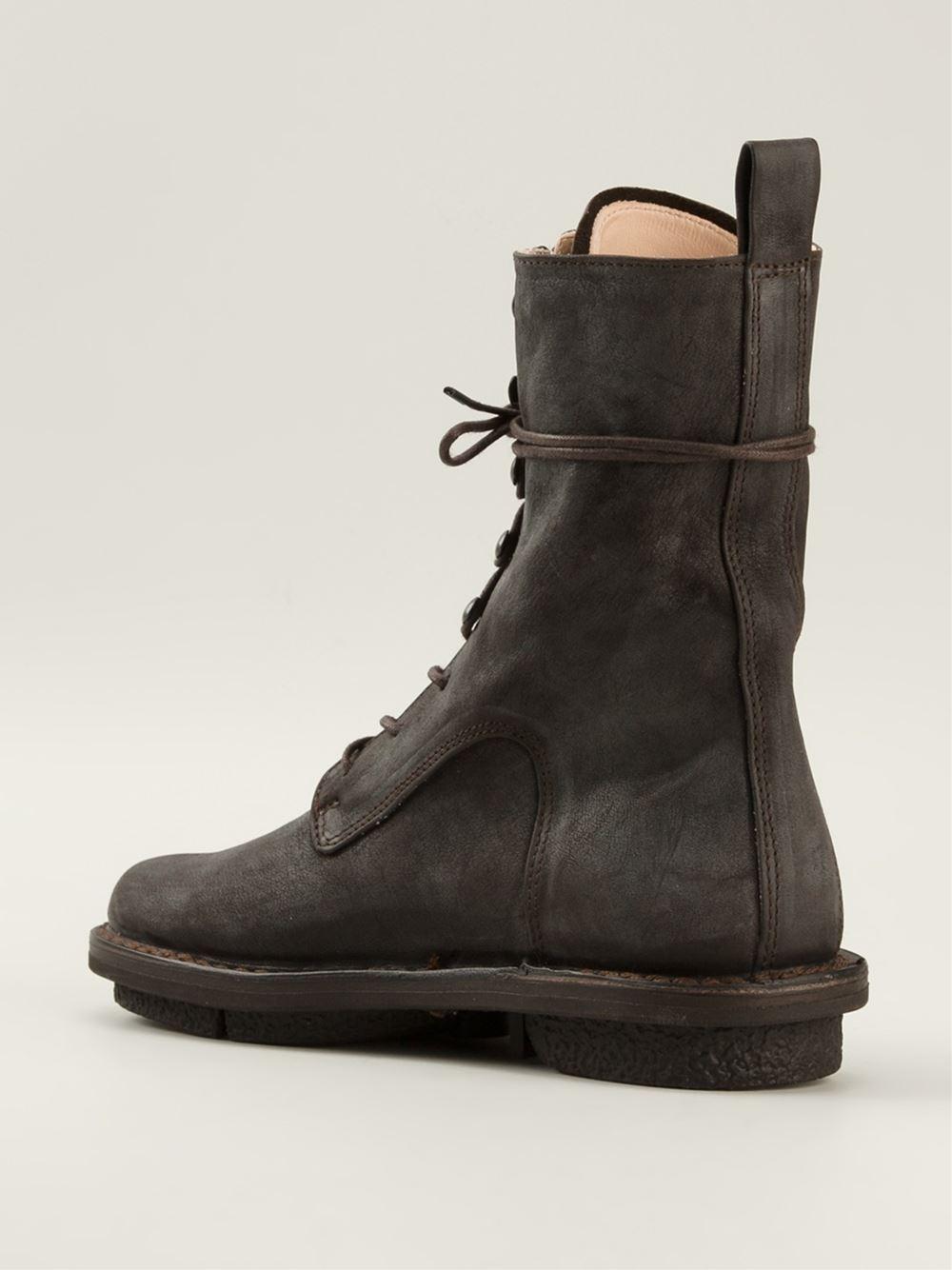 Black In Boots Trippen Lace Lyst Up xgw7U6qRn