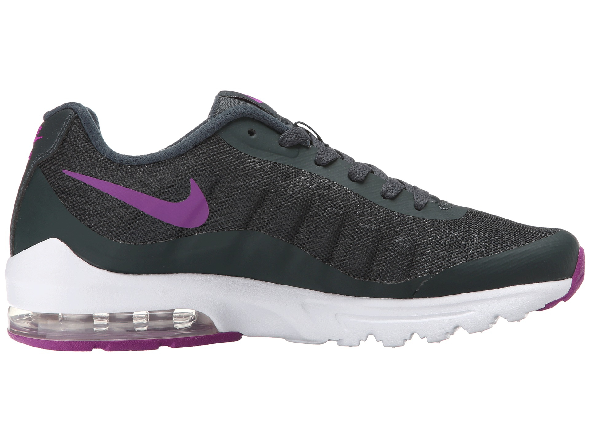 nike air max invigor in gray lyst. Black Bedroom Furniture Sets. Home Design Ideas