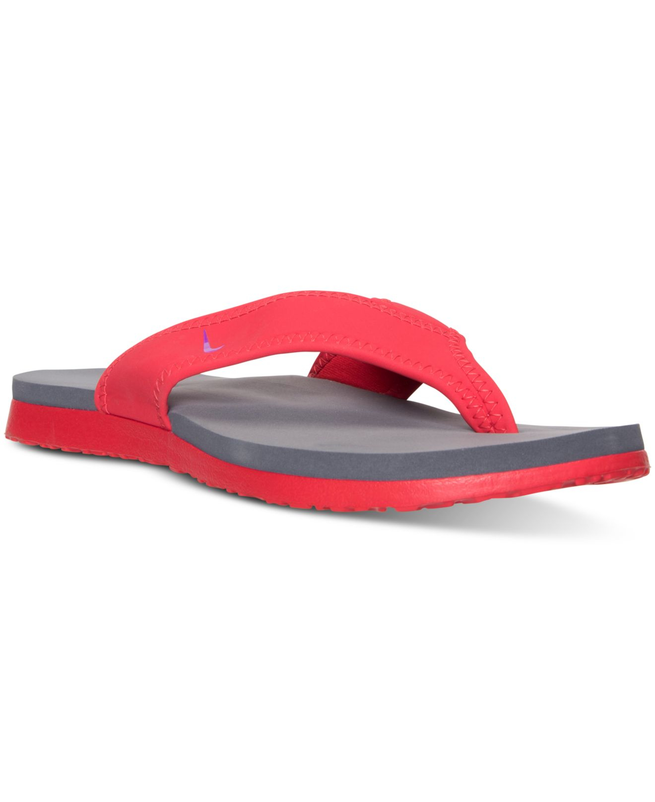 dc0297d29a91 Lyst - Nike Men s Celso Plus Thong Sandals From Finish Line in Red for Men