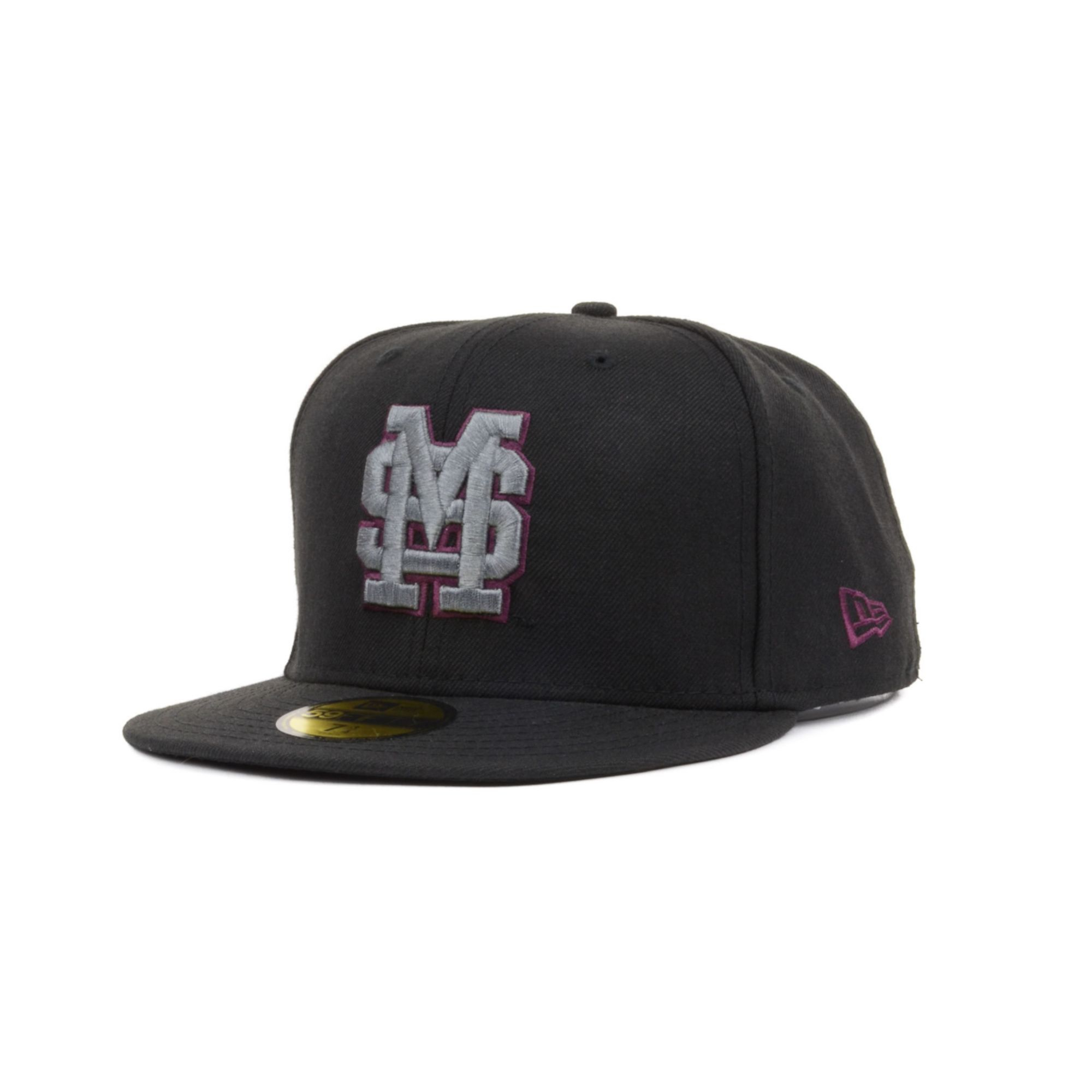5468ce29945 Lyst - KTZ Mississippi State Bulldogs Bgp 59fifty Cap in Black for Men
