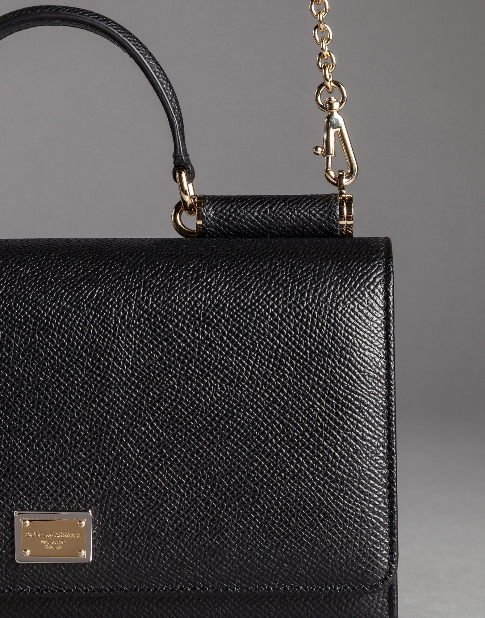 ... quality design 2c465 4d8fb Lyst - Dolce Gabbana Dauphine Print Calfskin Mini  Von Bag ... 322aa25abefd2