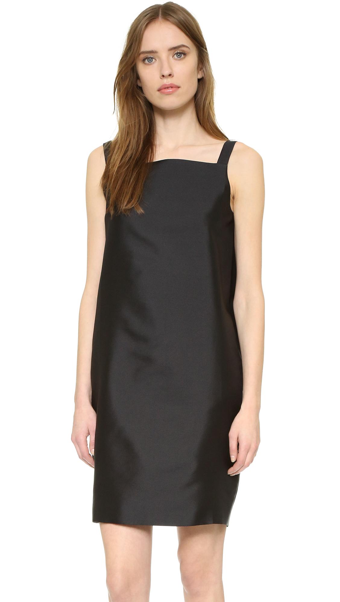 Nina ricci Sleeveless Dress in Black | Lyst