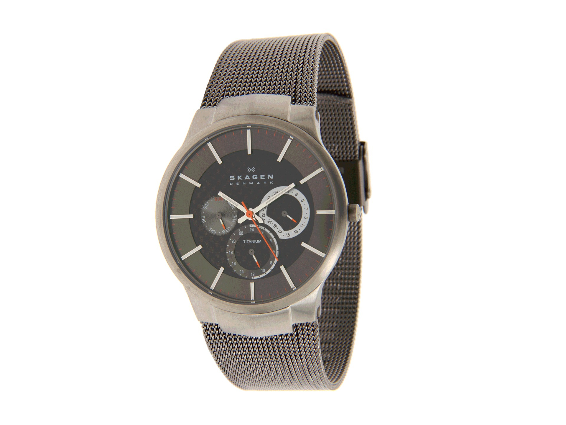 Carbon Fiber Iphone Case >> Skagen 809Xlttm Carbon Fiber Dial Titanium Watch in Gray for Men   Lyst
