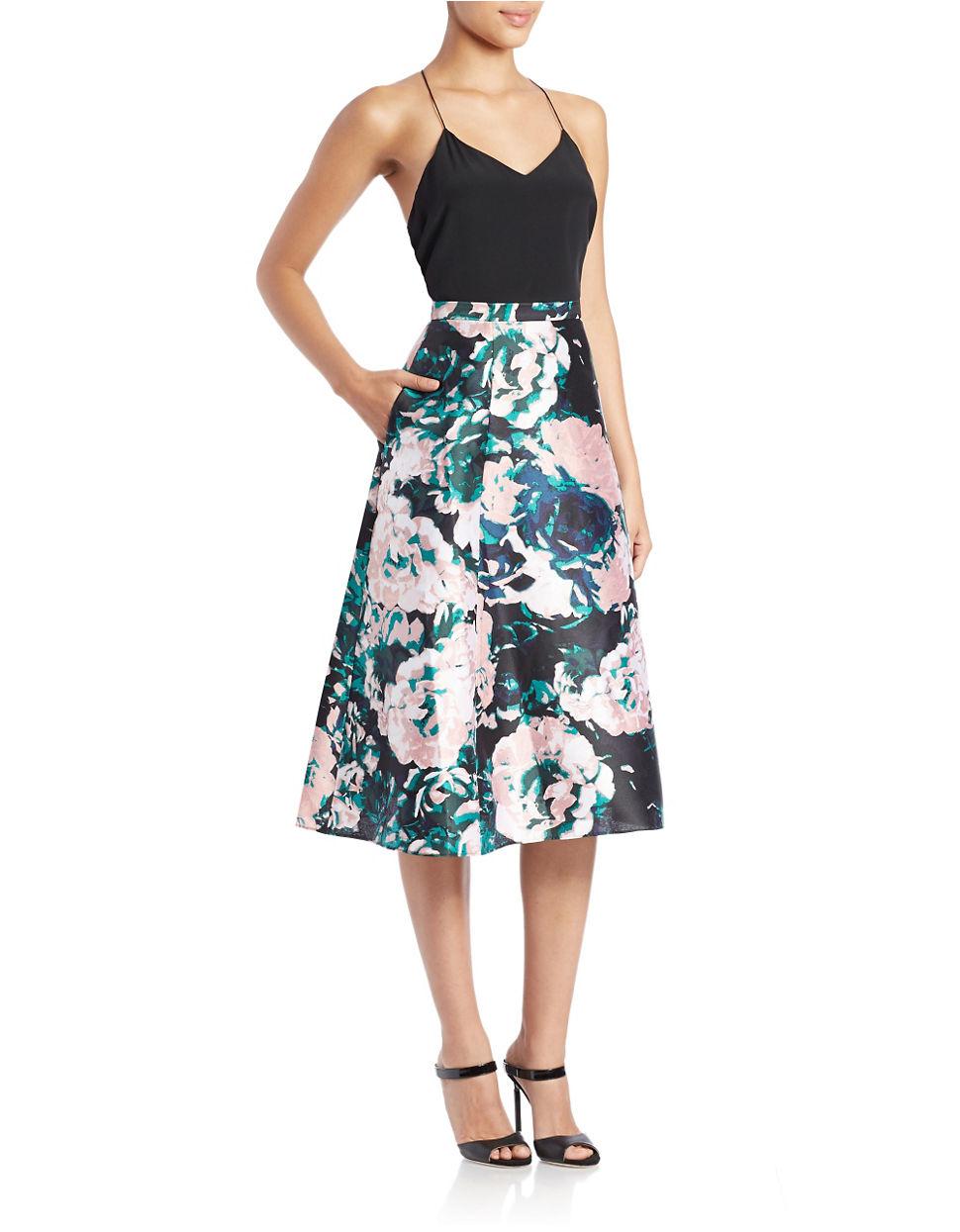 A Line Floral Skirt | Jill Dress