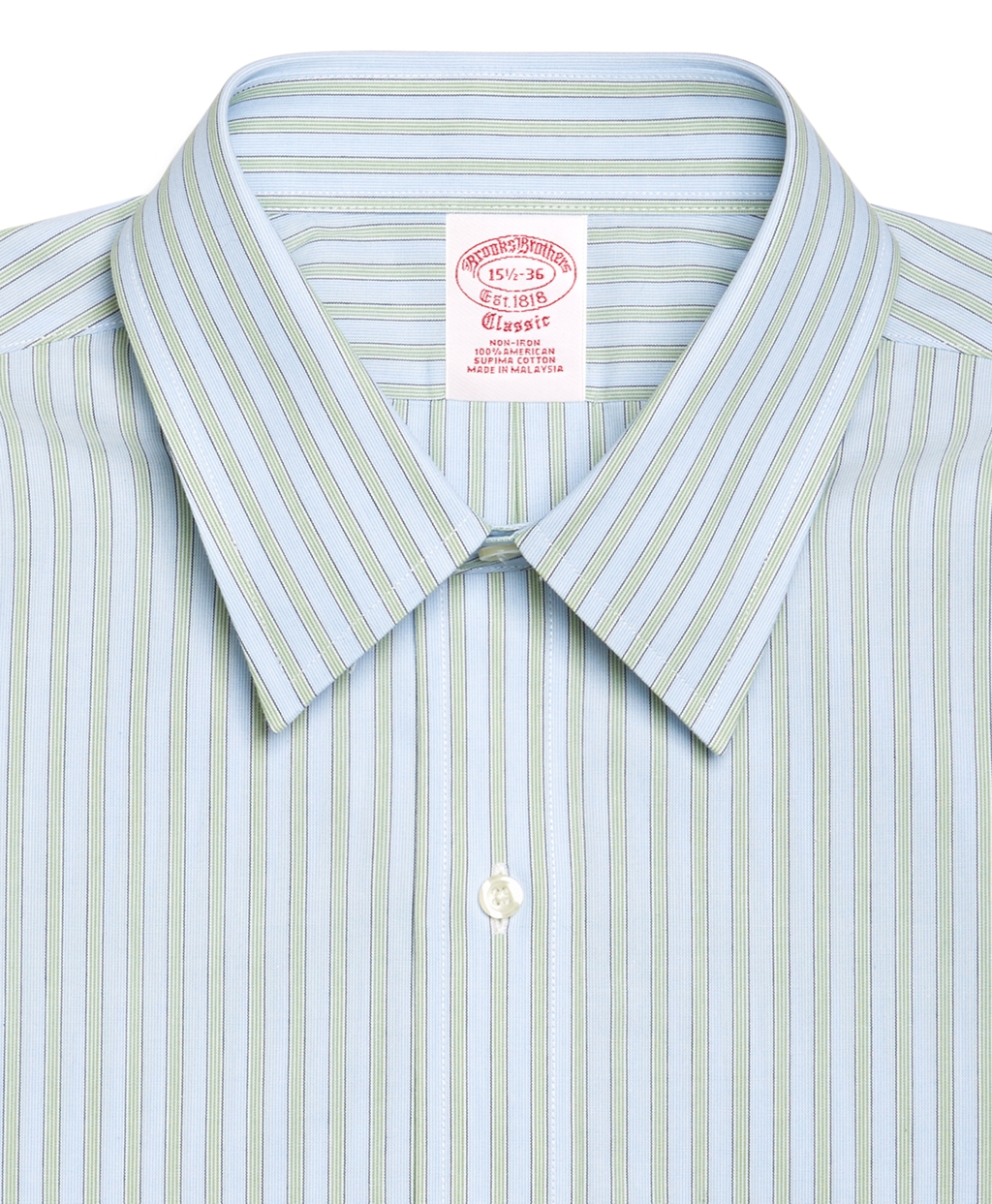 Brooks Brothers Supima Cotton Noniron Slim Fit Point