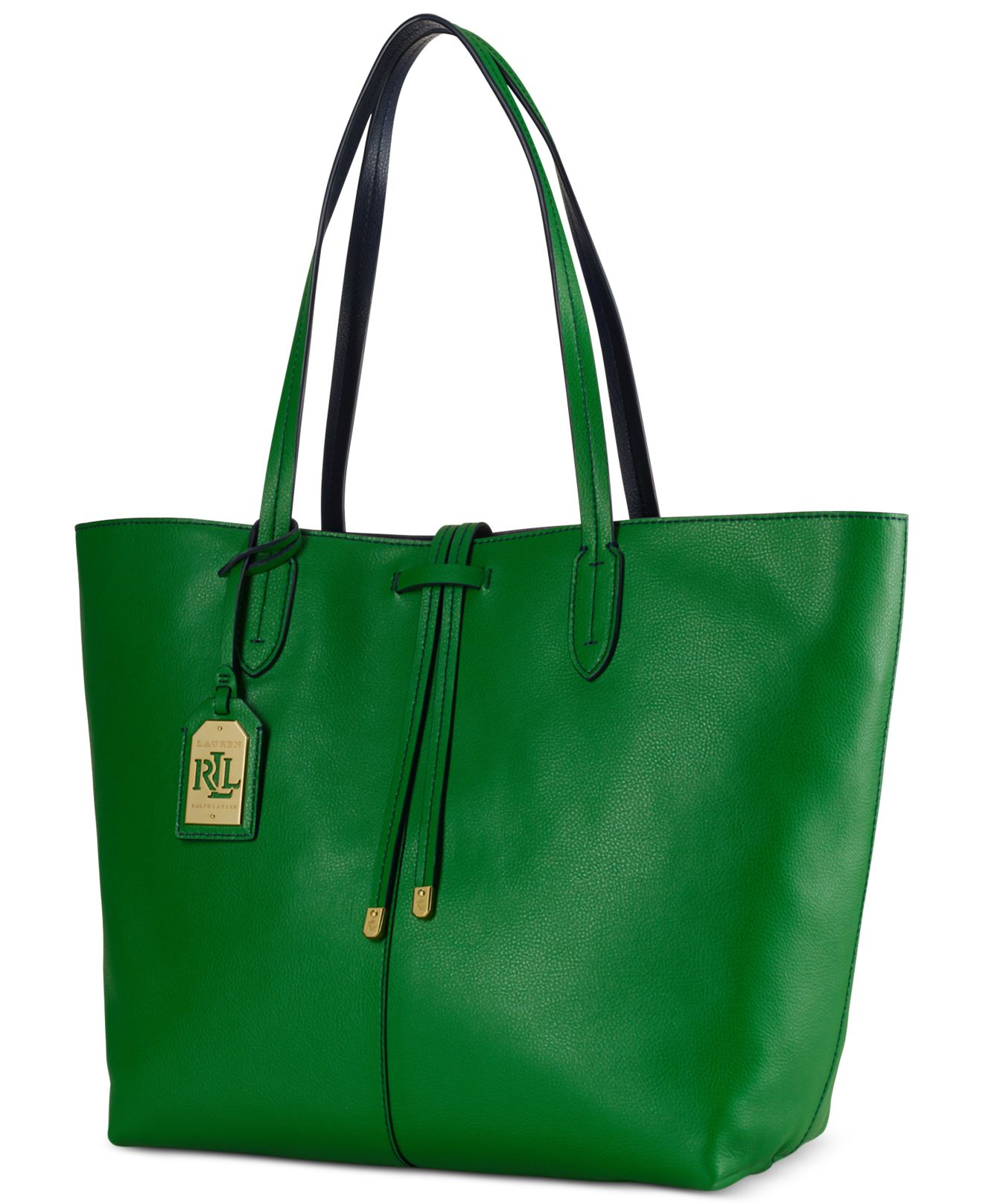 Ralph Lauren Tote Laukku : Lauren by ralph crawley unlined tote in green lyst