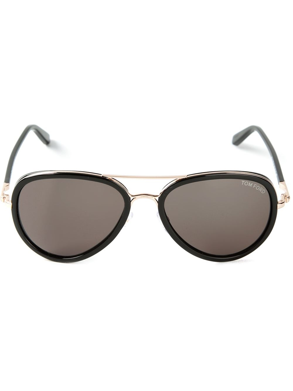 39f123d5cd89a Lyst - Tom Ford Cyrille Sunglasses in Black for Men