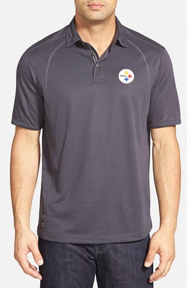 bf18ac80 Tommy Bahama 'firewall - Pittsburgh Steelers' Short Sleeve Nfl Polo ...