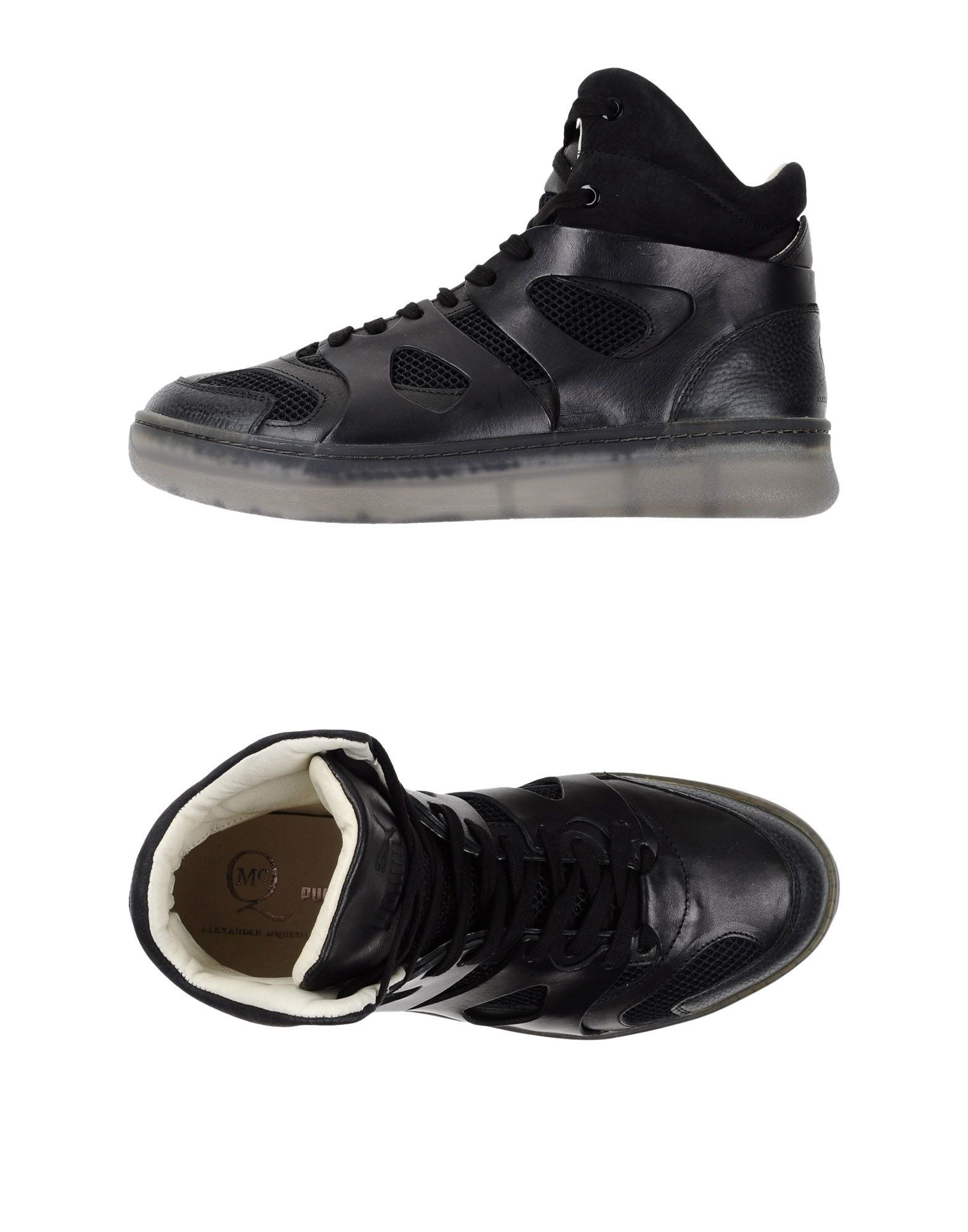lyst alexander mcqueen x puma move leather hightop