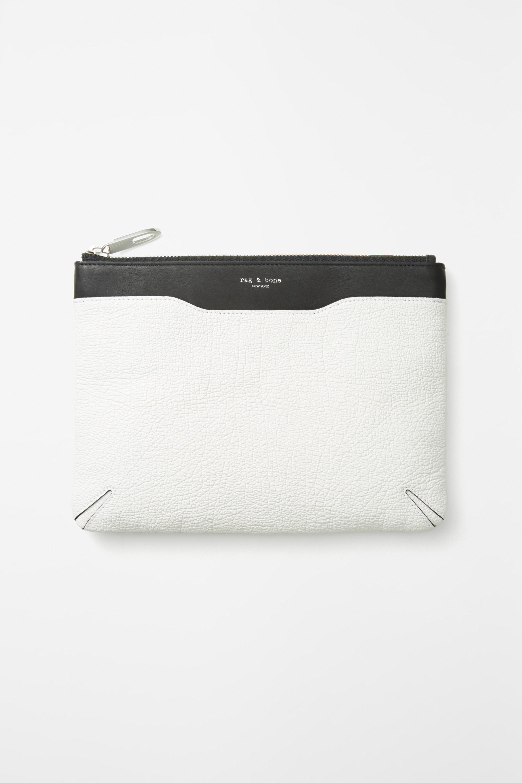 Rag & Embrayage Zip Os En Noir Et Blanc classique dZt1wl3sS