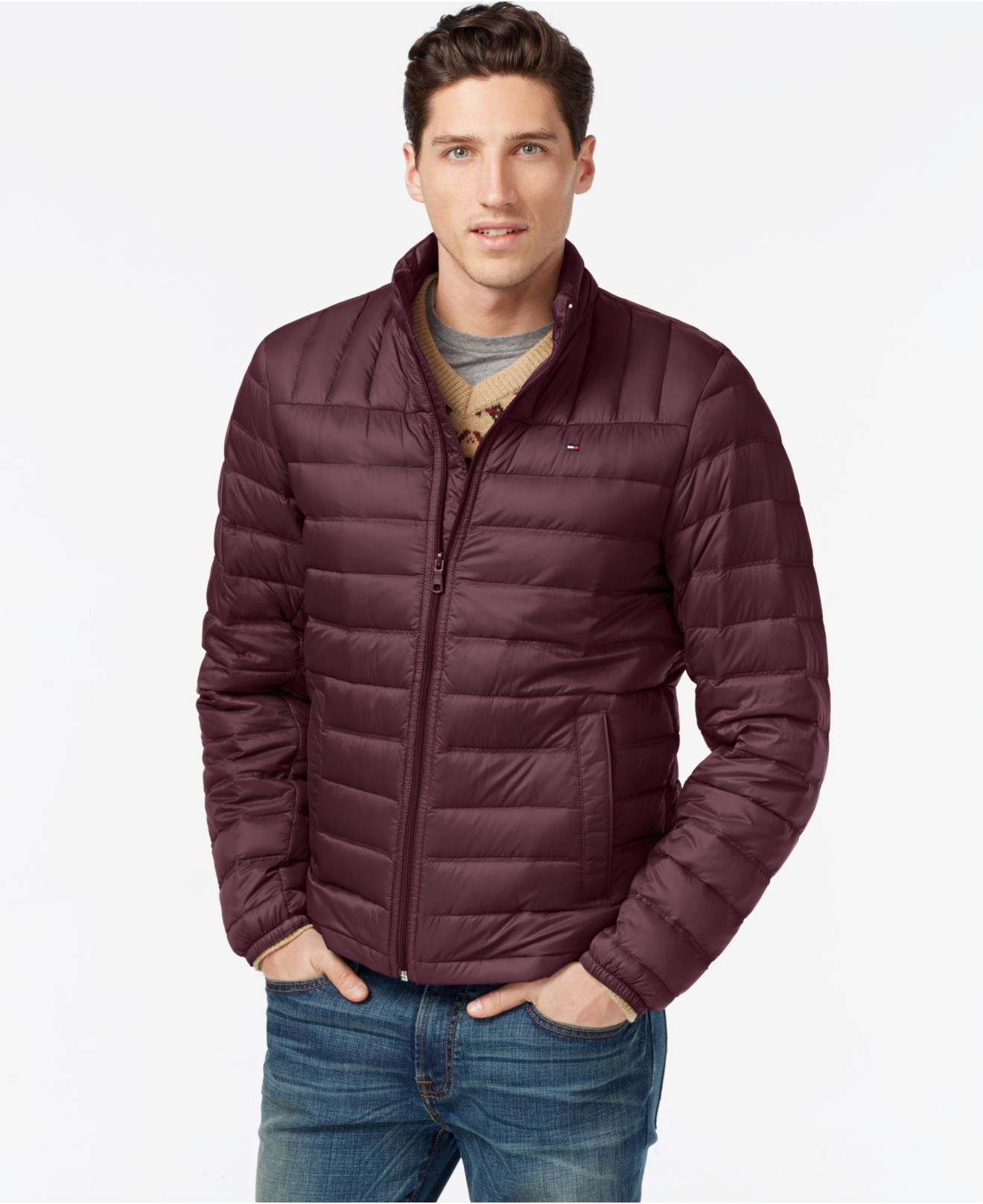 Packable Nylon Jackets Men 56