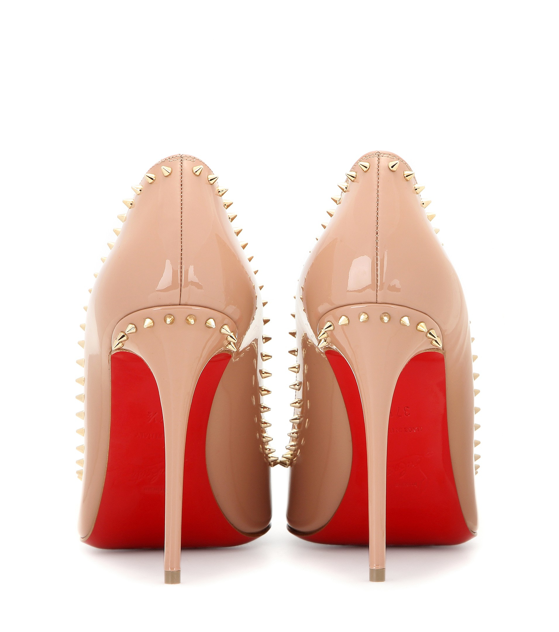 christian louboutin anjalina 70 spiked pumps