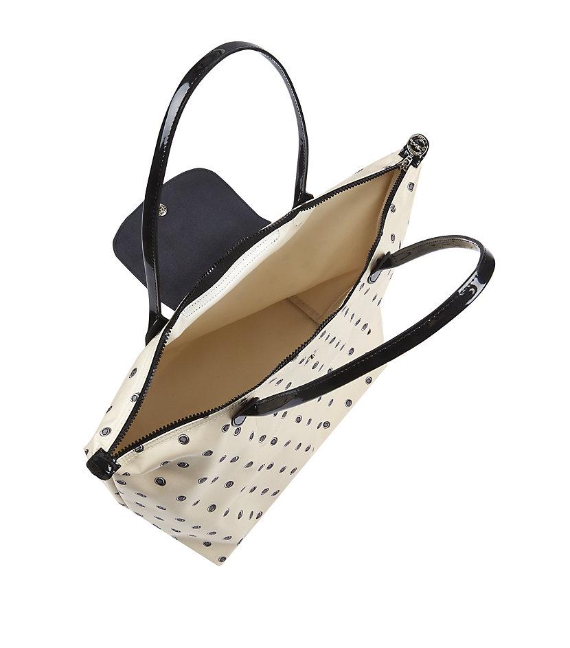 Longchamp Le Pliage Não Fantaisie Shoulder Bag in Black - Lyst 446a49ac6f767