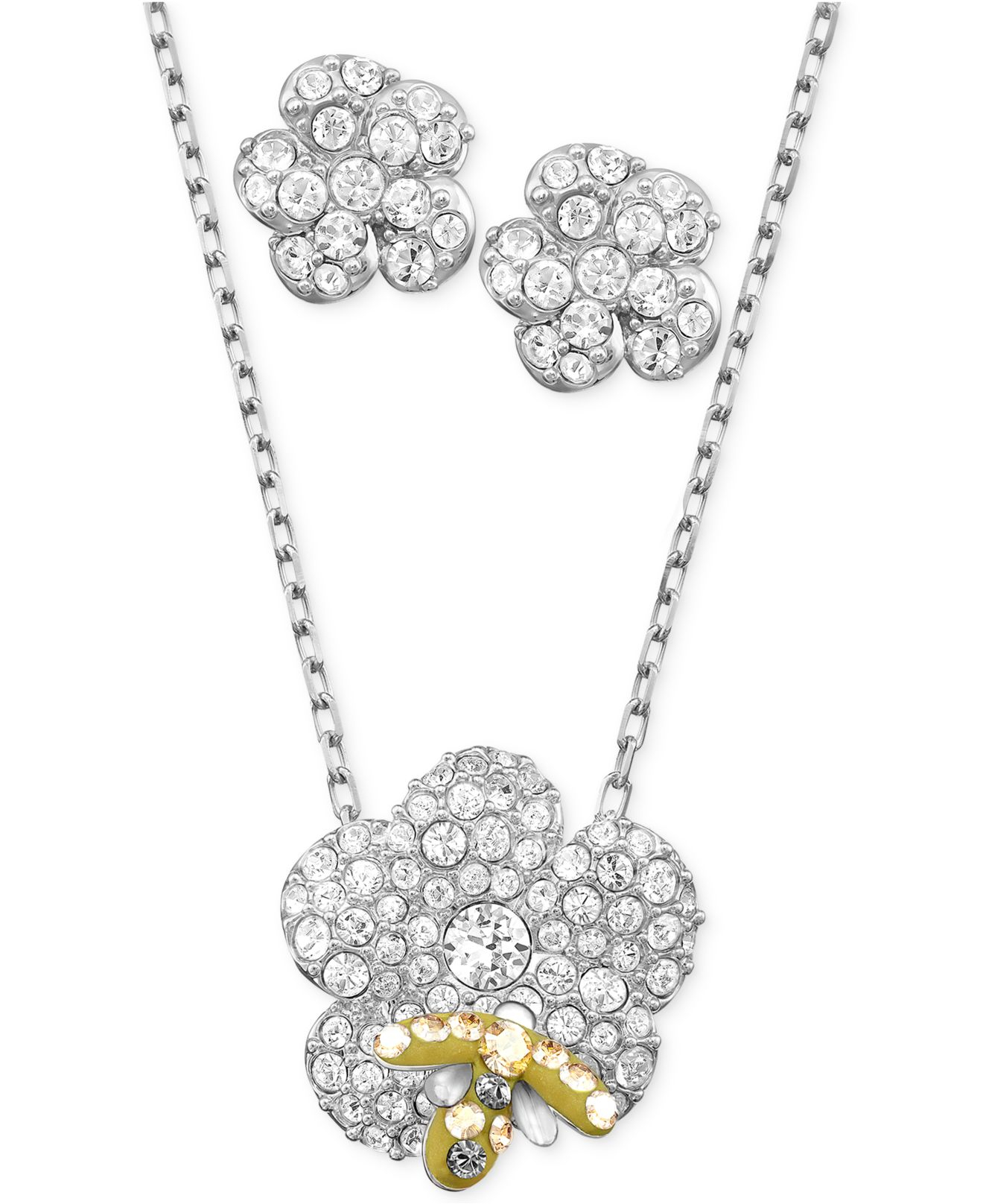 df2402d32 Gallery. Previously sold at: Macy's · Women's Swarovski Crystal Necklace