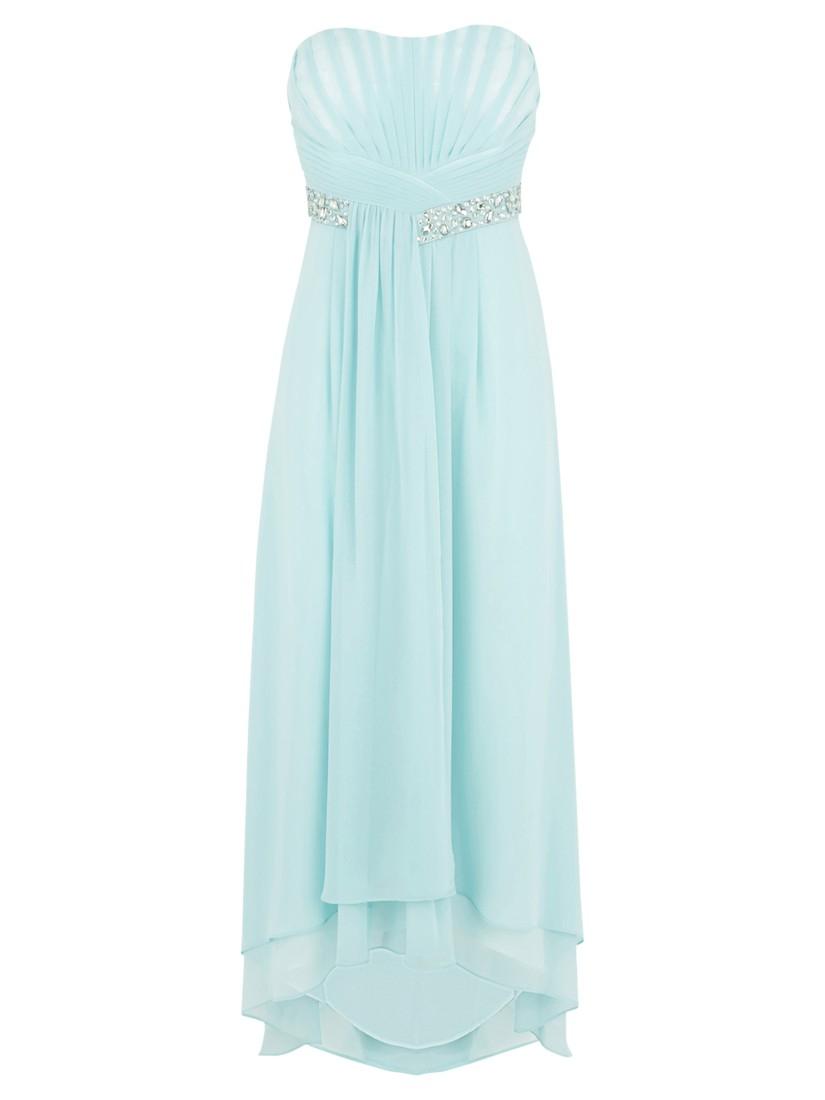 Lyst - Coast Petite Pipa Maxi Dress in Blue