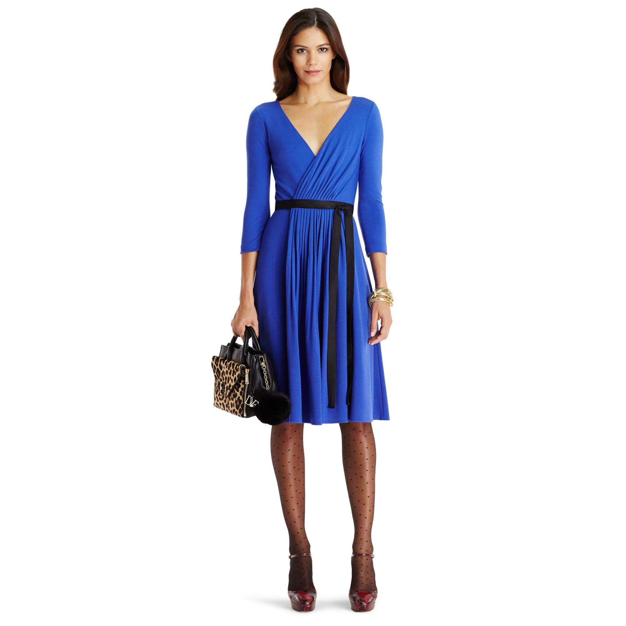Lyst diane von furstenberg dvf seduction wool wrap dress for Diane von furstenberg clothes