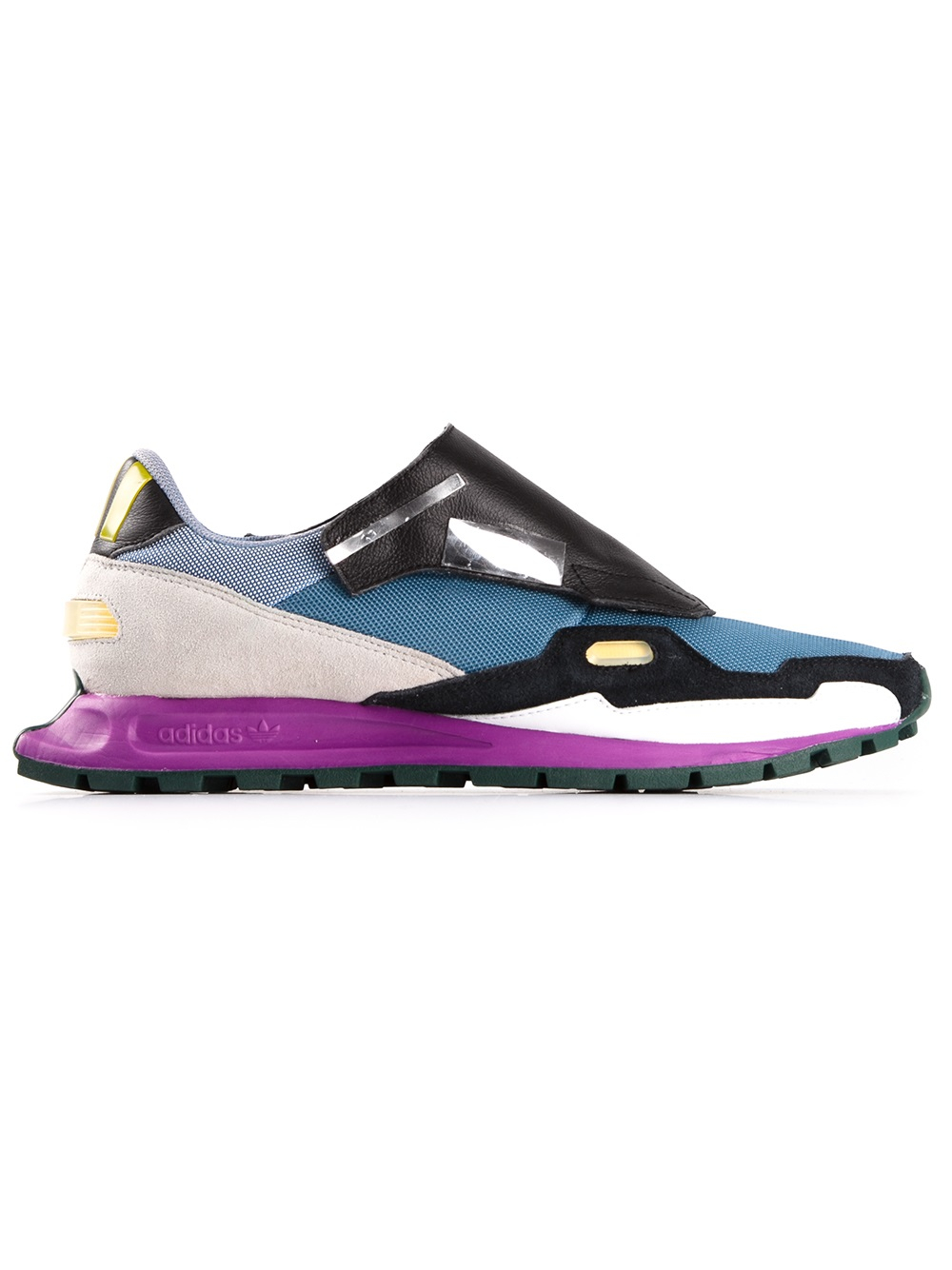 online store a17a7 6efe2 Adidas by raf simons Formula One 1 Trainer in Blue for Men .