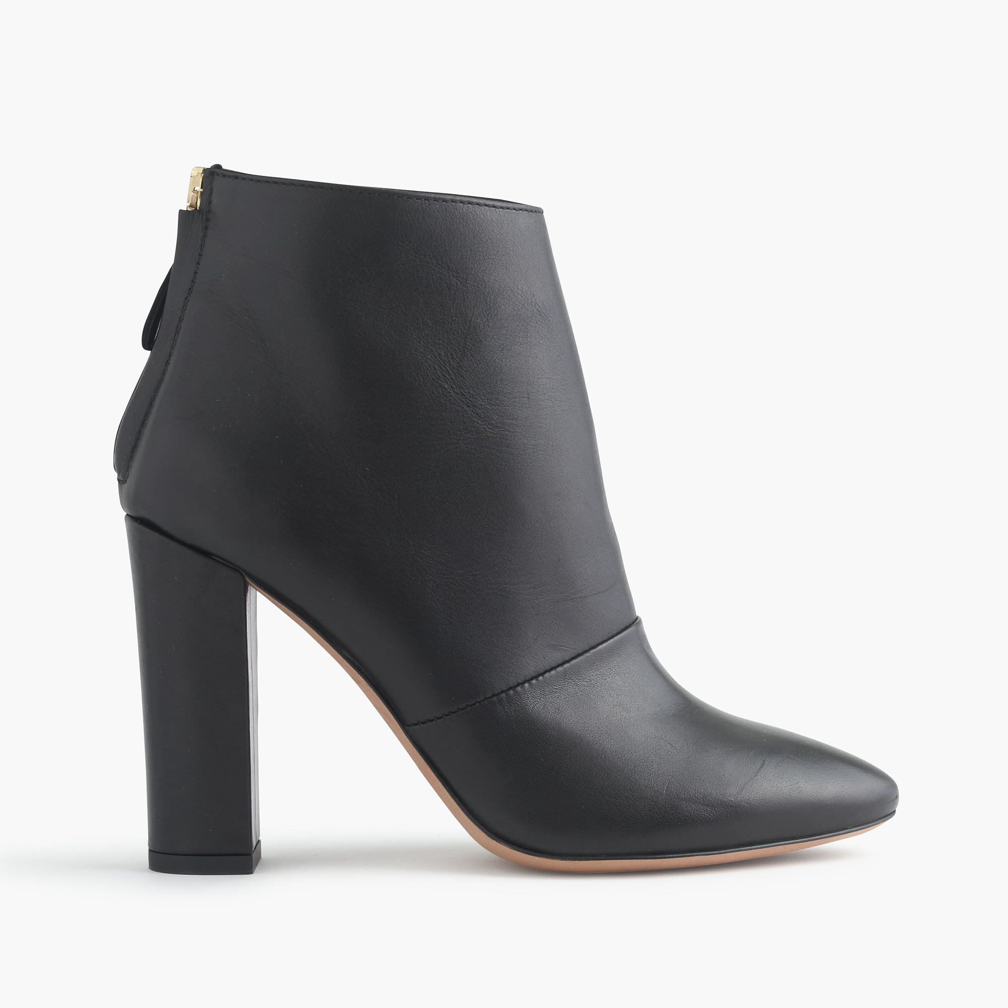 j crew adele ankle boots in black lyst