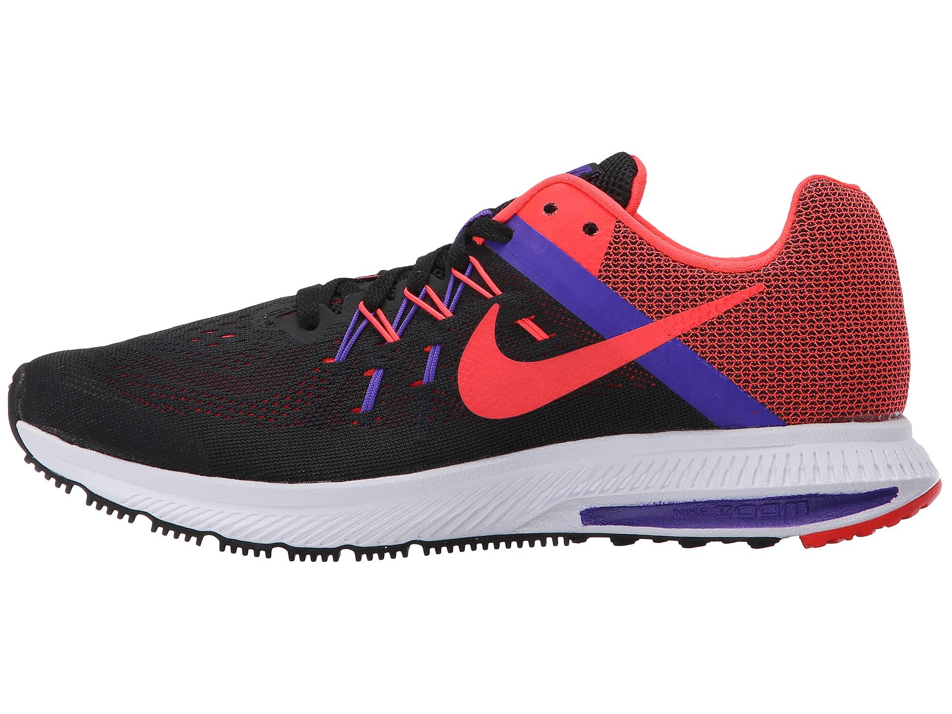 859d40fa9acc0 Nike Zoom Winflo 2 in Red (Black Fierce Purple White Bright)
