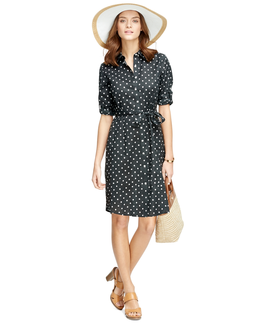 Buy AGB Women's Polka Dot Shirt Dress, and other Cocktail at eacvuazs.ga Our wide selection is elegible for free shipping and free returns/5(2).