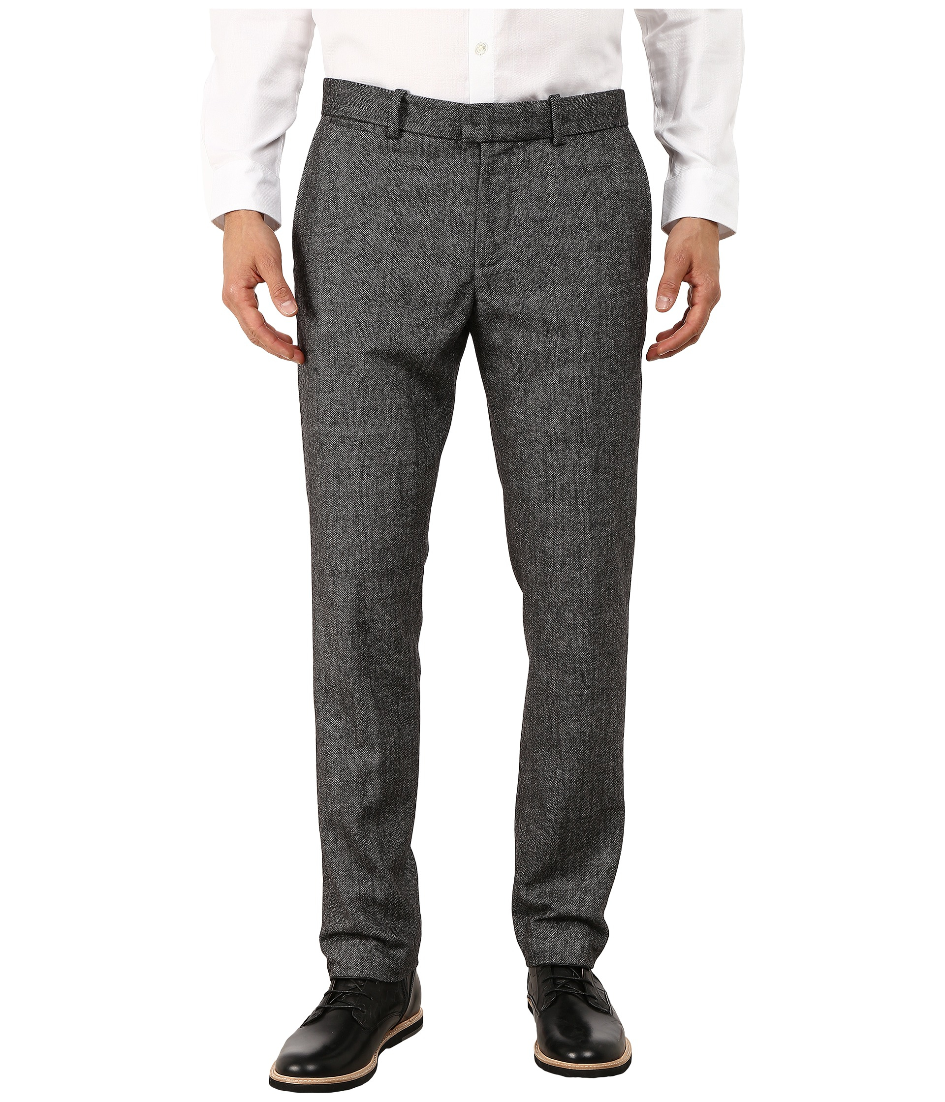 Original penguin Tweed Tailored Pants in Gray for Men