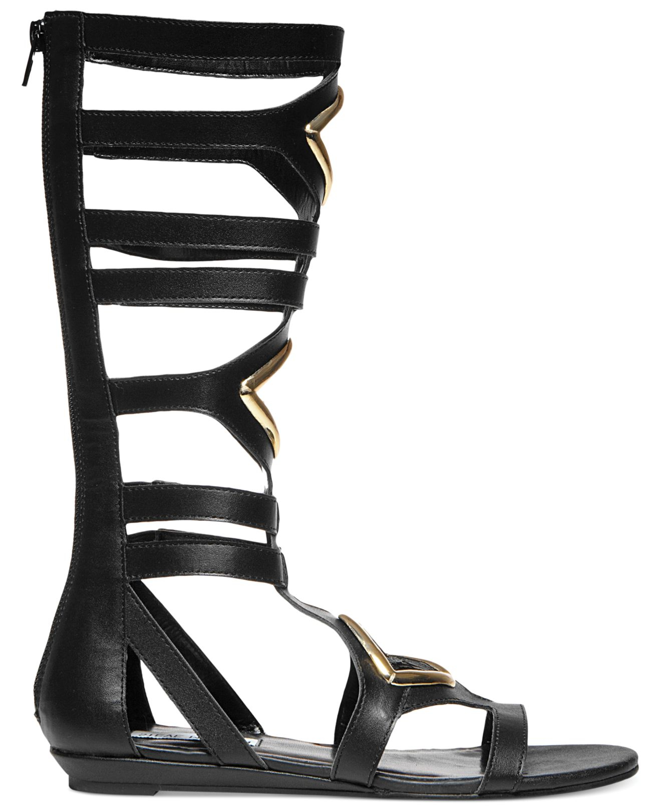 f9a5e25590e Lyst - Steve Madden Women S Aristotle Gladiator Sandals in Black