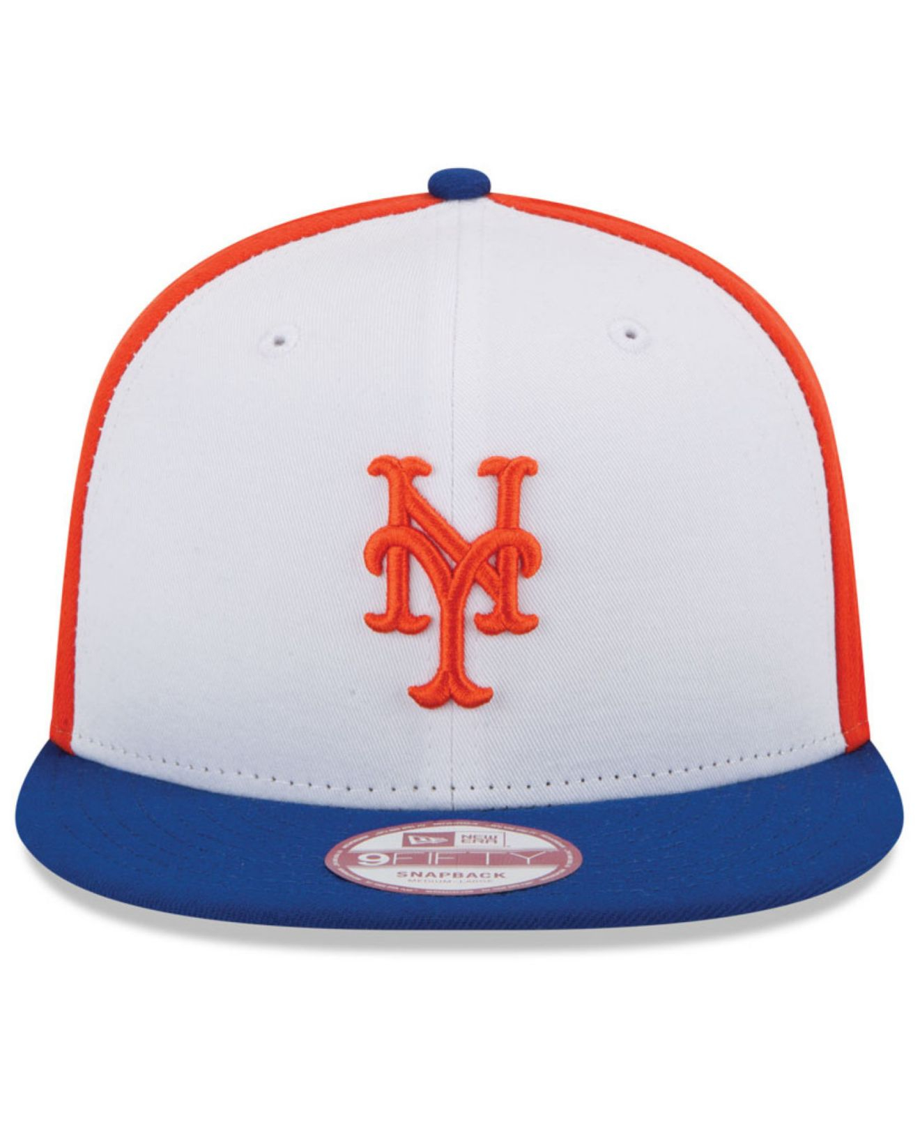 89ce5a7bb9f ... denmark lyst ktz new york mets the rotator 9fifty snapback cap in white  bb433 16298