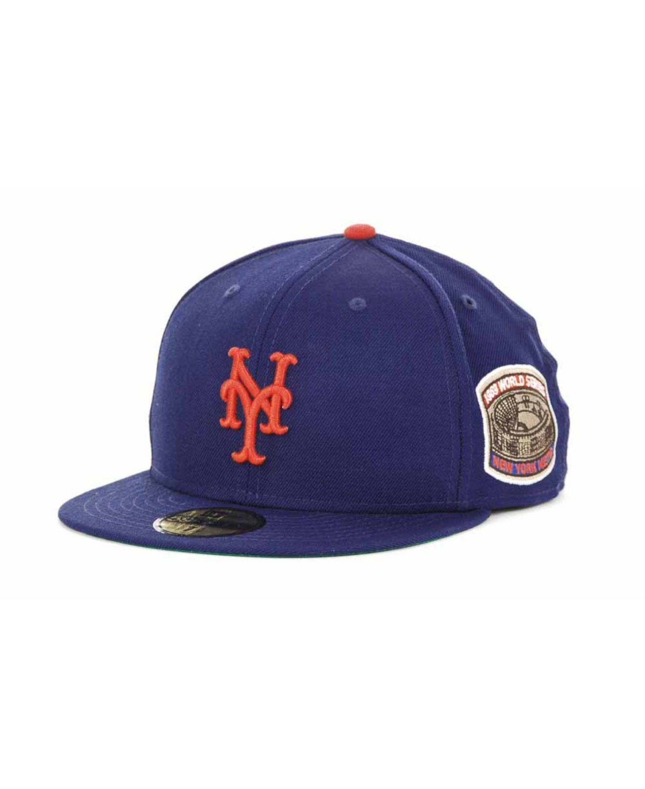 3e123561229 Lyst - KTZ New York Mets Retro World Series Patch 59fifty Cap in ...