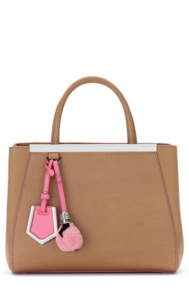 91436ca9d245 Gallery. Previously sold at  Nordstrom · Women s Bag Charms Women s Shearling  Bags Women s Fendi ...