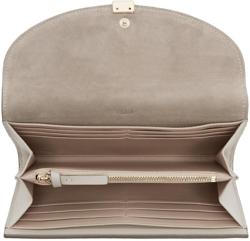 96090c0b chloe tan leather long georgia wallet, chloe black and white bag