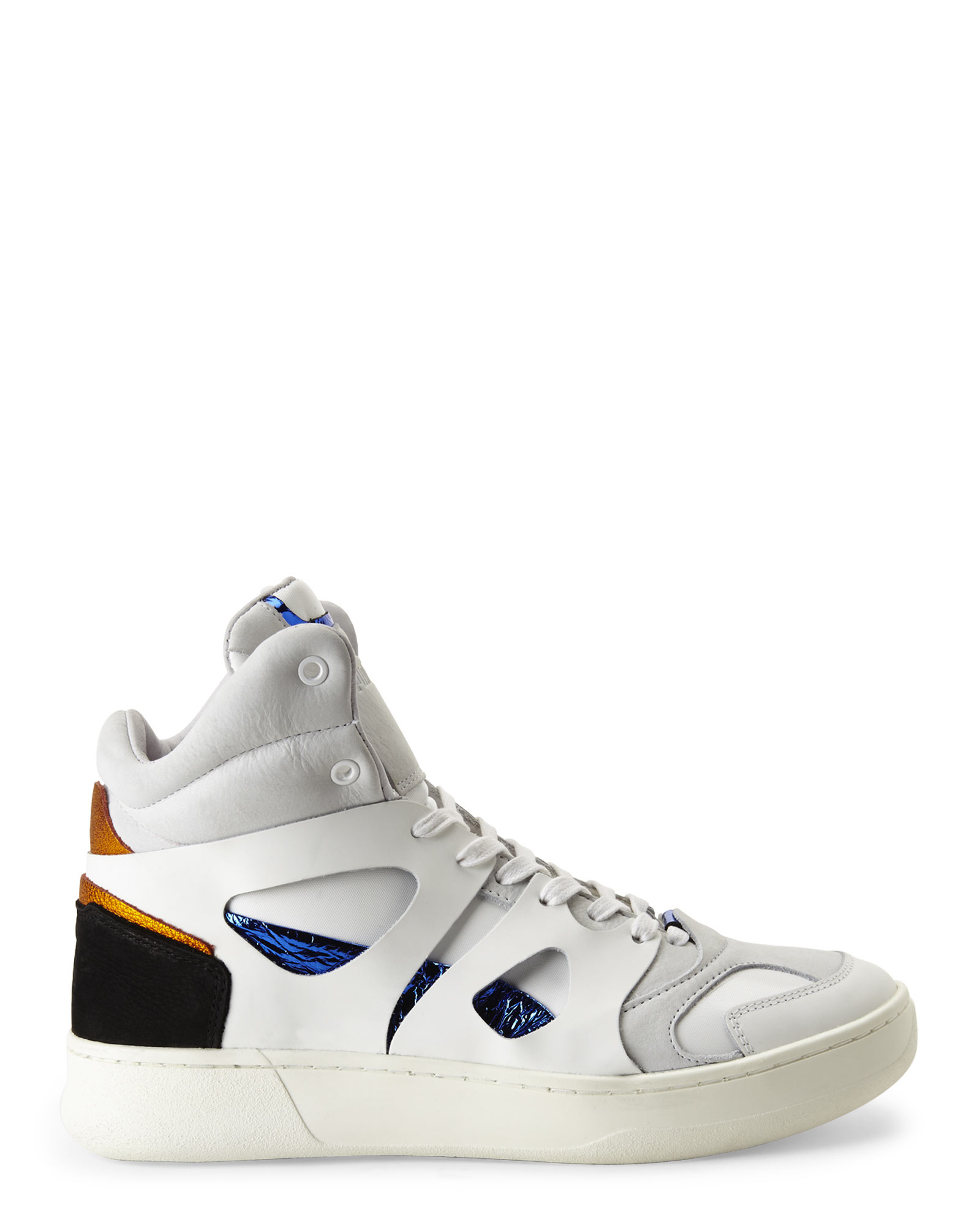 bfdf4858b9f Lyst - PUMA X Mcq By Alexander Mcqueen White Mid Move Sneakers for Men