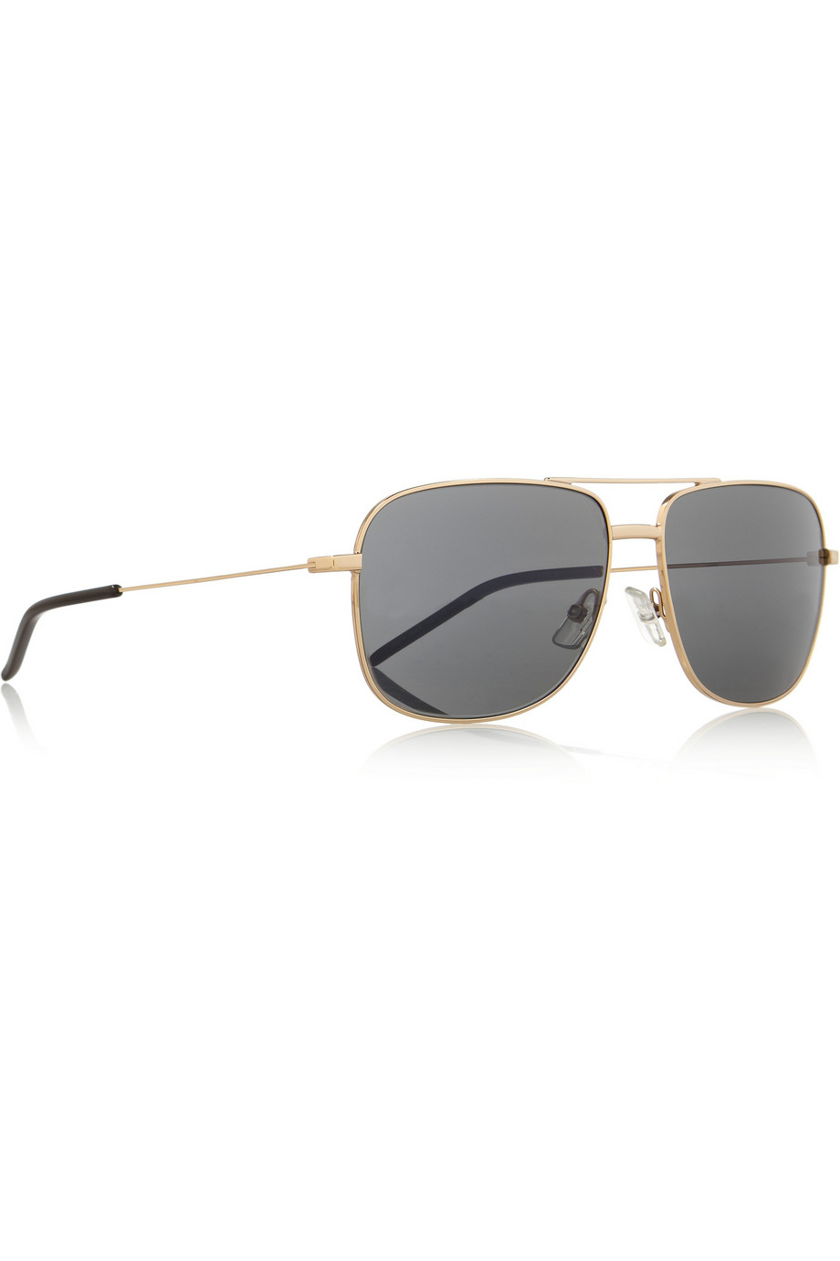 60d8d5a803dd Saint Laurent Square-Frame Acetate Aviator-Style Sunglasses in ...