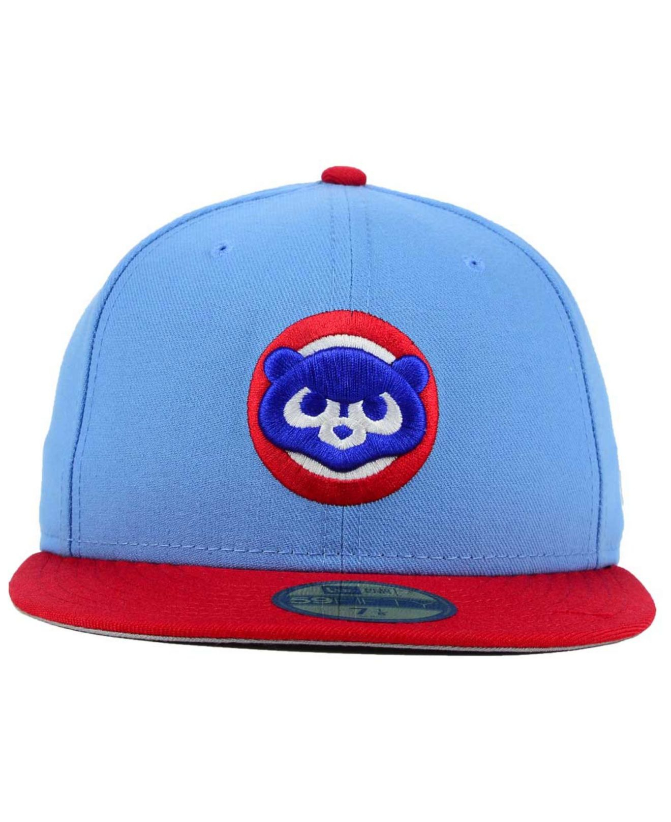23161b88110 Lyst - KTZ Chicago Cubs Cooperstown 2 Tone 59Fifty Cap in Blue for Men
