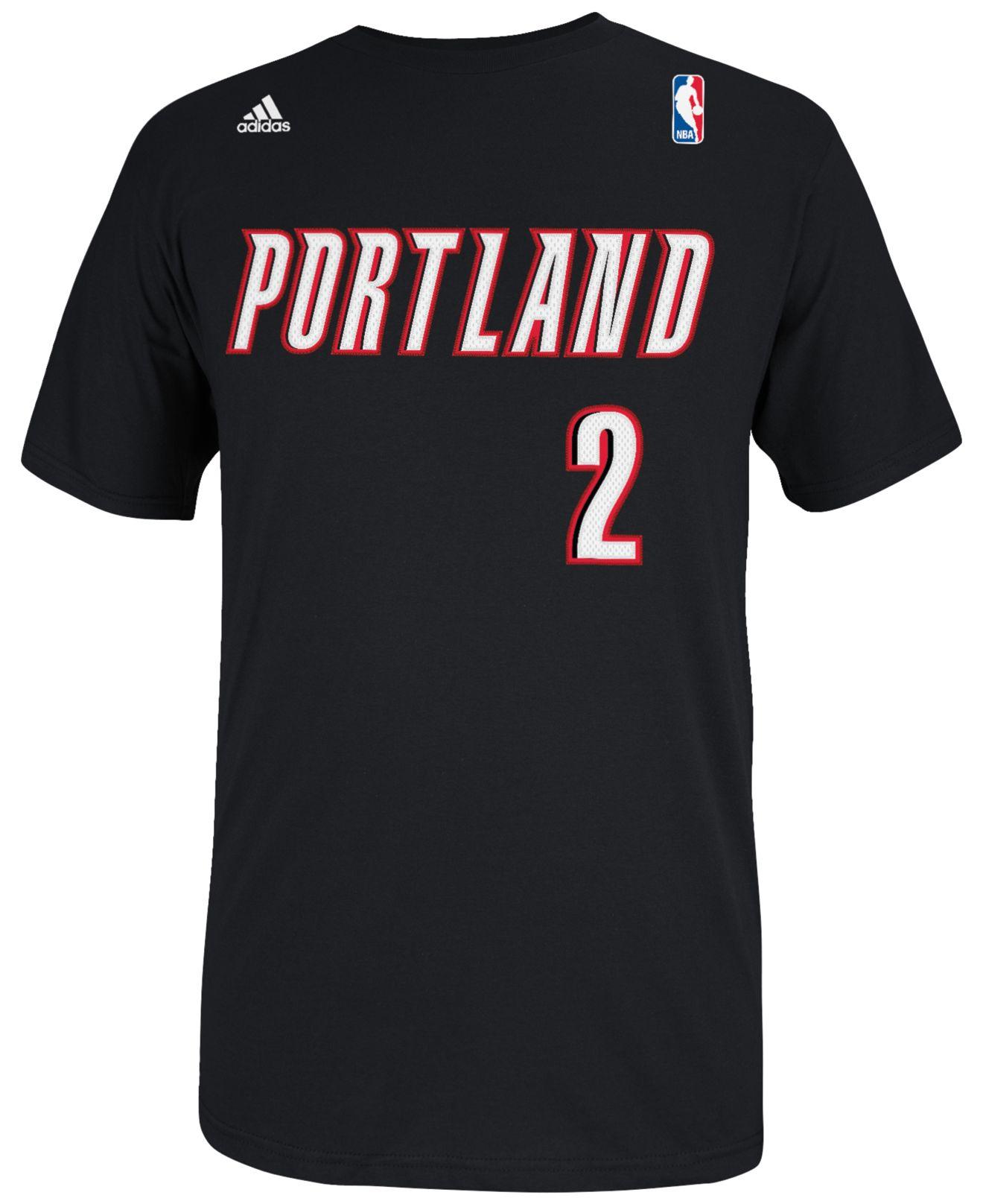 Adidas Men's Wesley Matthews Portland Trail Blazers Player