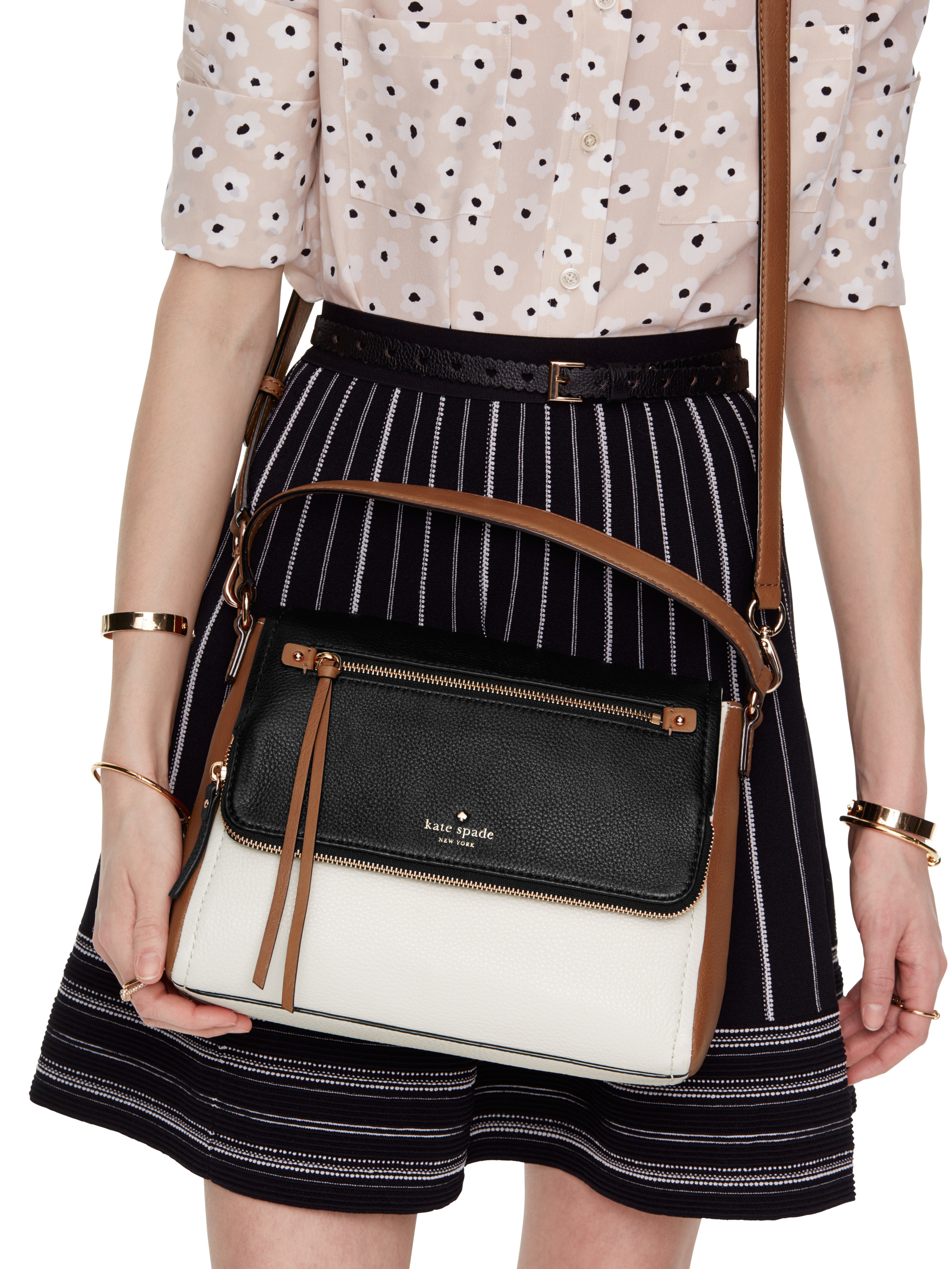 Kate Spade New York Cobble Hill Small Toddy In Black Lyst Katespade Adrien Large Two Tone Authentic Gallery